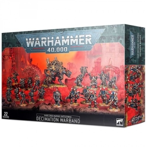 Warhammer 40000: Chaos Space Marines Decimation Warband